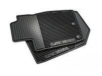 Ford Floor Mats;All Weather Thermoplastic Rubber , Black, 4 Piece Set - DS7Z-5413300-JA