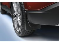 Ford Splash Guards;Molded, Rear Pair - FT4Z-16A550-BA