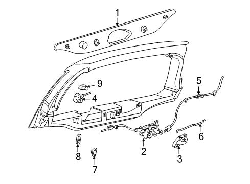 Genuine Ford Latch Assembly 6C3Z-2626413-A