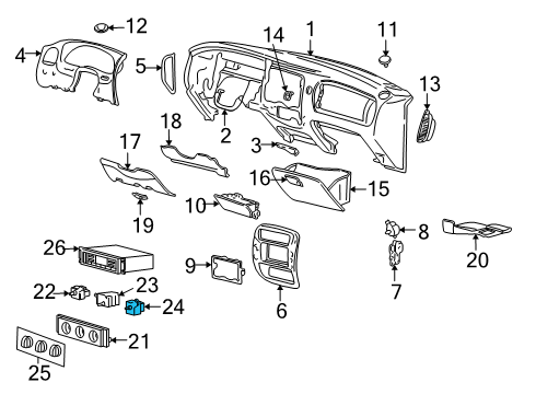 Ford Explorer Xls Fuse Panel Diagram. Ford. Auto Fuse Box