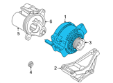 Ford Alternator - 6L2Z-10346-BARM1 and Related Parts