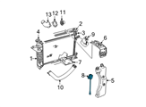 Ford Coolant Reservoir - E6ZZ-8K103-A and Related Parts