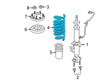 Ford Coil Springs - 9L1Z-5310-L and Related Parts