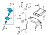Ford Ignition Coil - 7T4Z-12029-E and Related Parts