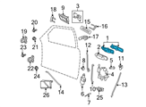 Ford Door Handle - 6W7Z-5422404-DB and Related Parts