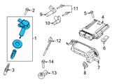 Ford Ignition Coil - BR3Z-12029-A and Related Parts