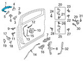 Ford Door Handle - CV6Z-5422404-DA and Related Parts