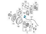 Ford Brake Line - 5C3Z-2268-EE and Related Parts