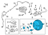 Ford Brake Booster - CV6Z-2005-H and Related Parts