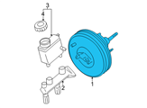Ford Brake Booster - 2L1Z-2005-CB and Related Parts