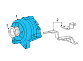 Ford Alternator - F6AZ-10346-AARM2 and Related Parts