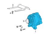 Ford Alternator - 6W7Z-10346-AA and Related Parts