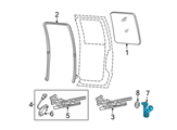 Ford Door Handle - F37Z-1023342-A and Related Parts