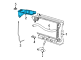 Ford Coolant Reservoir - YR3Z-8A080-BA and Related Parts