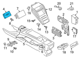 Ford Body Control Module - DA5Z-14D212-KA and Related Parts