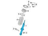 Ford Shock Absorber - BL3Z-18124-H and Related Parts