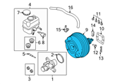 Ford Brake Booster - DR3Z-2005-D and Related Parts