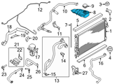 Ford Coolant Reservoir - CV6Z-8A080-C and Related Parts