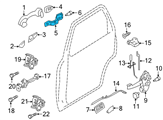 Ford Door Handle - 9L8Z-7826605-A and Related Parts