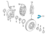 Ford Brake Line - 7L3Z-2078-A and Related Parts