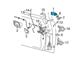 Ford Door Handle - F37Z-1022405-A and Related Parts