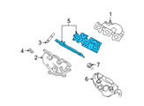 Ford Exhaust Manifold Gasket - 7T4Z-9448-F and Related Parts