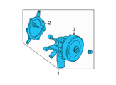 Ford Water Pump - F5DZ-8501-CL and Related Parts