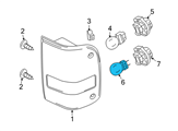 Ford Fog Light Bulb - 3W1Z-13466-AB and Related Parts
