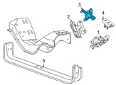 Ford Engine Mount - 3C3Z-6030-AA and Related Parts
