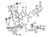 Ford Timing Chain - F3LY-6268-B and Related Parts