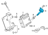 Ford Ignition Coil - GR3Z-12029-A and Related Parts