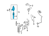 Ford Ignition Coil - 3W7Z-12029-AA and Related Parts