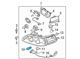 Ford Headlight Bulb - YU5Z-13466-AD and Related Parts
