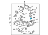 Ford Headlight Bulb - F5DZ-13466-B and Related Parts