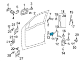Ford Door Handle - 9L3Z-1522600-CB and Related Parts