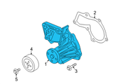 Ford Water Pump - 7S7Z-8501-C and Related Parts