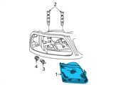 Ford Headlight - 3L3Z-13008-DA and Related Parts