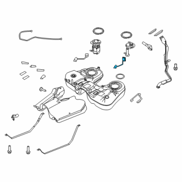 2012 Ford Explorer Fuel System Components