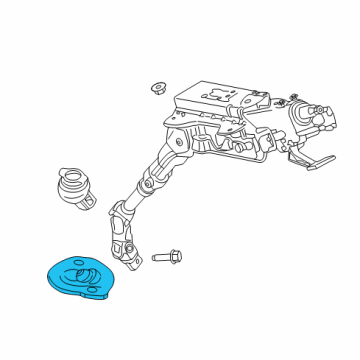 2016 Ford Transit-350 Steering Column Assembly