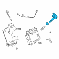 Lincoln Ignition Coil - 7T4Z-12029-E and Related Parts