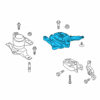 Ford C-Max Motor And Transmission Mount - FV6Z-6068-D and Related Parts