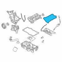 Ford Fusion Valve Cover Gasket - 6E5Z-6584-DA and Related Parts