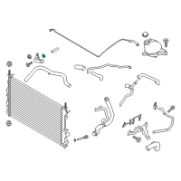 Ford Thermostat Gasket - -W706722-S300 and Related Parts