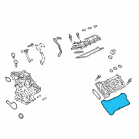 Ford Fusion Valve Cover Gasket - FT4Z-6584-C and Related Parts
