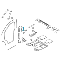 Ford Transit-150 Door Handle - CK4Z-6131406-AA and Related Parts