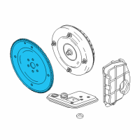 Lincoln Flywheel - 1S7Z-6375-C and Related Parts