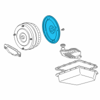 Lincoln Flywheel - 4W7Z-6375-AA and Related Parts