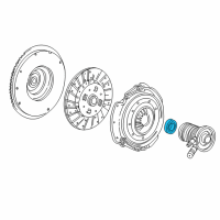 Ford F-150 Release Bearing - 6L2Z-7548-A and Related Parts