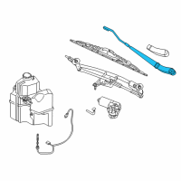 Ford Taurus Wiper Arm - 6G1Z-17527-B and Related Parts