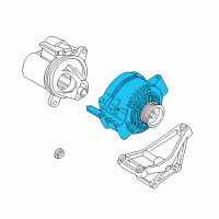 Ford Explorer Sport Trac Alternator - 6L2Z-10346-BARM1 and Related Parts